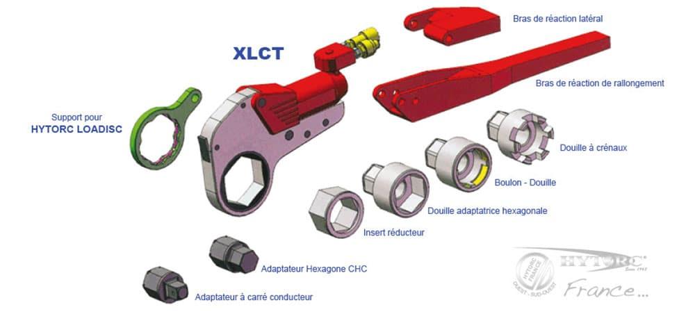 Accessoires clés hydrauliques xlct - Hytorc