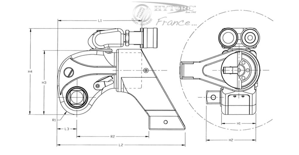 Schéma pièces détachées mxt - Hytorc